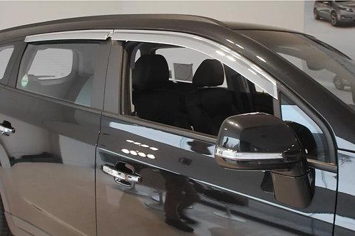 Aletas Bota Aguas Cromadas Chevrolet Orlando Oferta