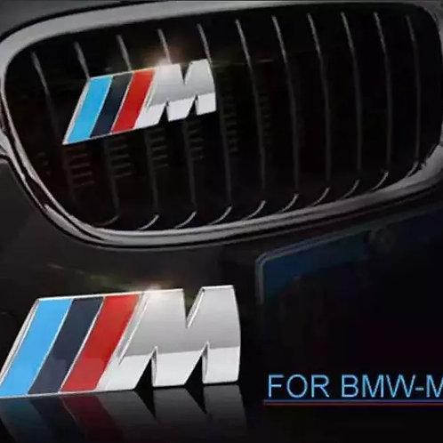 Logo Emblema Metálico Cromado Bmw