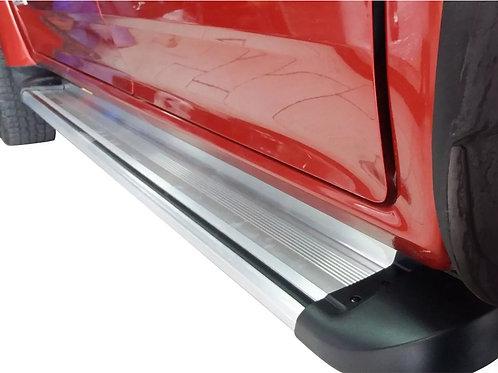 Pisaderas Estribos Aluminio. Chevrolet Dmax Embaladas