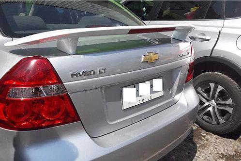 Spoiler Aleron Con Luz Chevrolet Aveo Sedan Oferta