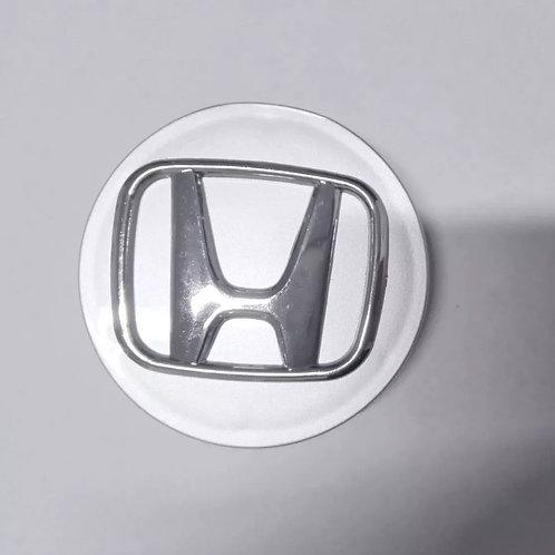 Logo Centro De Llanta Honda Cromado C/u