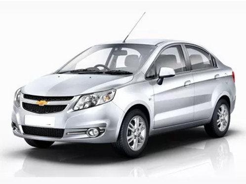Aletas Bota Aguas Chevrolet Sail 2010-2015