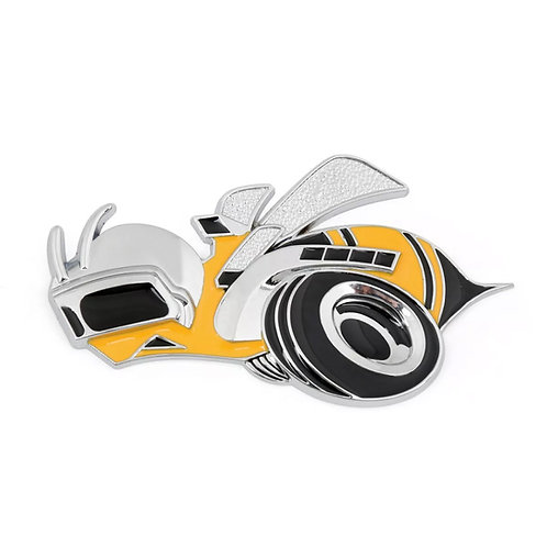 Emblema Logo Dodge Challenger Super Bee Metalico (unidad)
