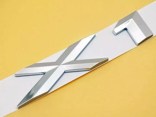 Emblema Bmw X1 X3 X6 C/u