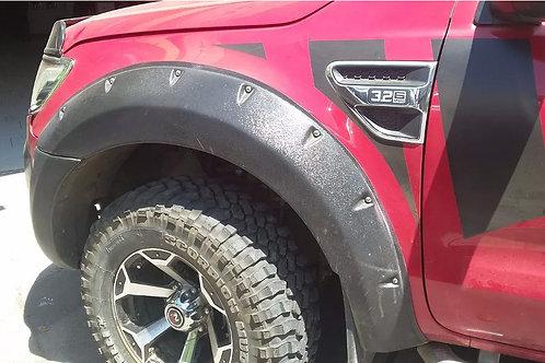 Extenciones De Tapabarros Ford New Ranger 2012-2015 Rally