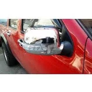 Cubre Espejos Cromados Con Led Chevrolet Dmax 2005-2014