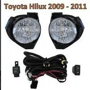 Neblineros Toyota Hilux  2009-2011 Kit Completo