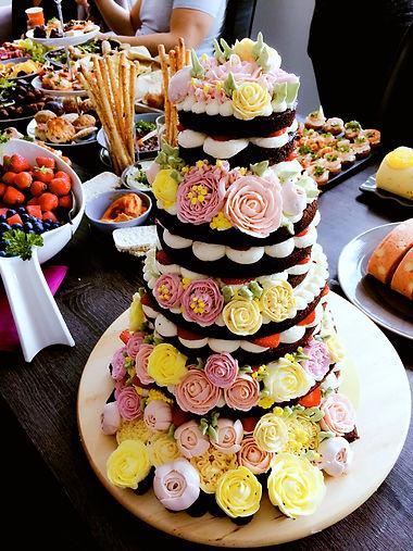 mascarpone butter cream birthday cake