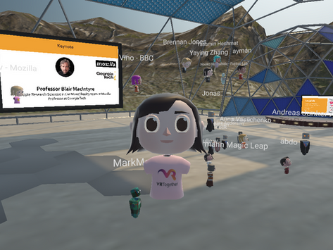 SocialVR for Remote Scientific Events? Co-organize Our CHI2020 Workshop on Mozilla Hubs