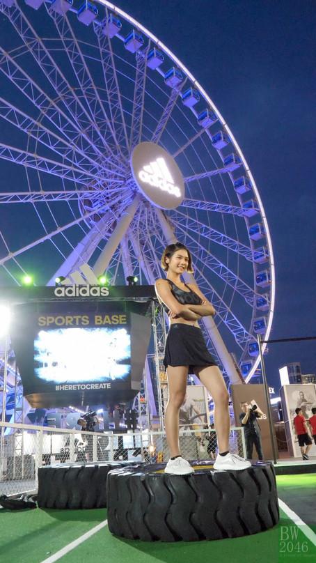 張沛樂 Charlotte (沙律) - 体能訓練班 @ adidas Sports Base 2017 開幕活動