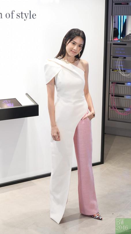 周秀娜 Chrissie Chau @《NET-A-PORTER》亞洲首間期間限定概念店揭幕 at K11 MUSEA 「NET-A-PORTER : a vision of style」