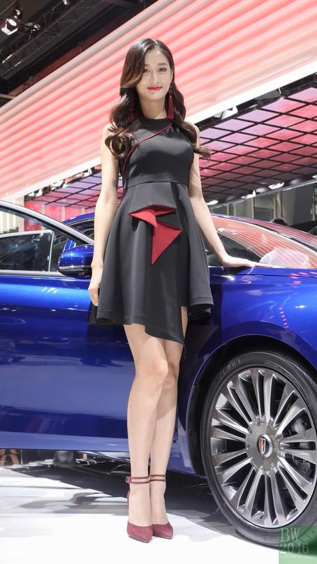廣州汽車展 | Auto Guangzhou 2019 - 車模 #31 @ 紅旗轎車 HongQi