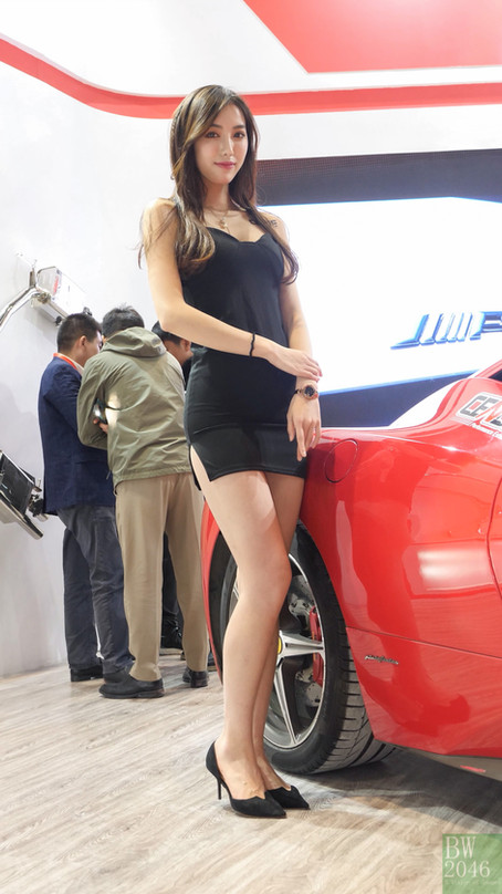 CAS 改裝車展 | China Auto Salon 2019 - Racing Model 레이싱모델 車模 #32