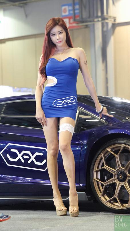 오토살롱위크 2019 | AUTO SALON X AUTOWEEK 2019 - 김하율 Kim Hayul, Racing Model #58