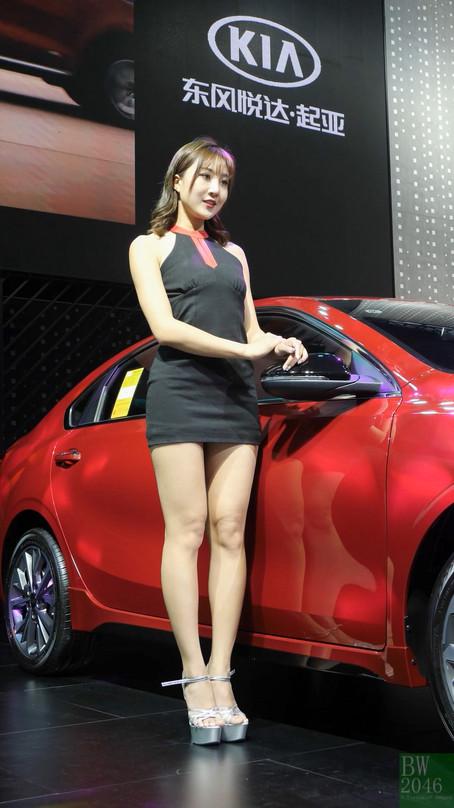 深港澳國際車展 Innovative Auto Show 2019 - 車展女模 #05 @ KIA 東風悅達起亞汽車