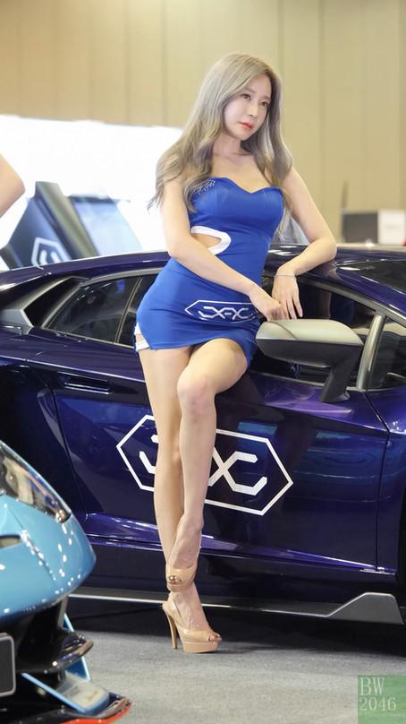 오토살롱위크 2019 | AUTO SALON X AUTOWEEK 2019 - 한지은 Han Ji Eun, Racing Model #59