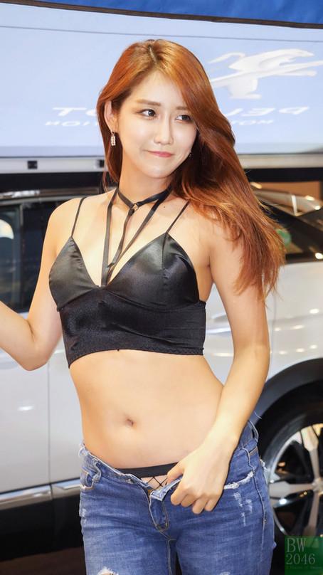 서울오토살롱 2017 | SEOUL AUTO SALON 2017 - 유다연 Yu Da Yeon, Racing Model 레이싱모델 車模 #29