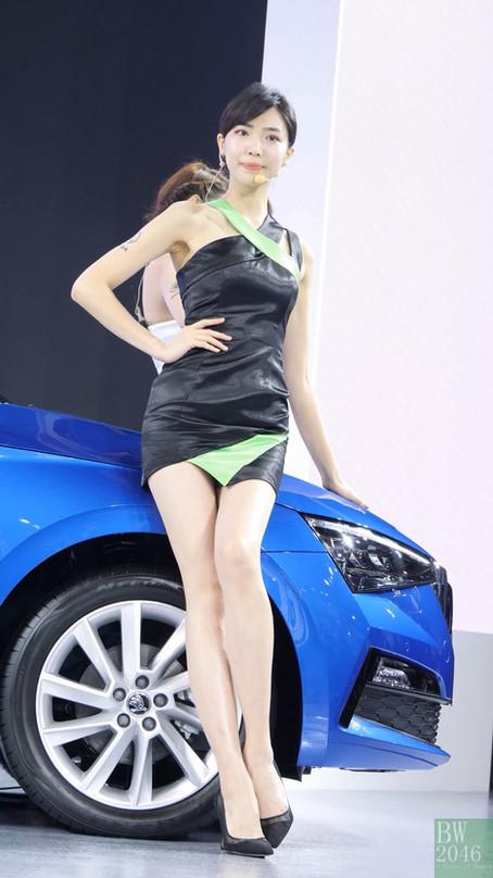 世界新車大展 - 台北車展   Taipei Auto Show 2020 - 車模 #29 陳以欣 Esther Chen @ Skoda Taiwan