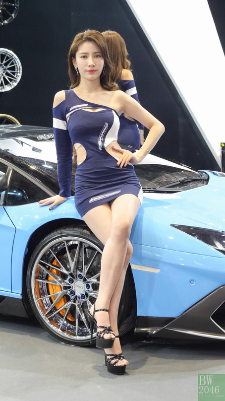 CAS 改裝車展 | China Auto Salon 2019 - Racing Model 레이싱모델 車模 #28 @ Futuristic Wheels