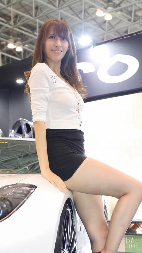 東京改裝車展 Tokyo Auto Salon 2019 - 車模系列 #08《青山由美子 @ Forgiato Wheels》