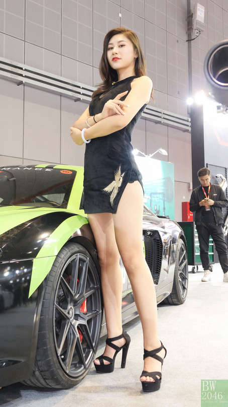 CAS 改裝車展 | China Auto Salon 2019 - Racing Model 레이싱모델 車模 #38 @ RAVIZE Wheels