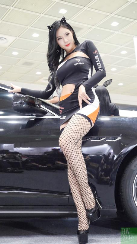서울오토살롱 2017 | SEOUL AUTO SALON 2017 -  김지희 Kim Ji Hee, Racing Model 레이싱모델 車模 #38