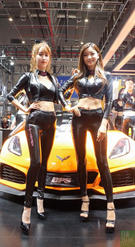 "CAS 改裝車展 | China Auto Salon 2019 - Racing Model 車模 #20 @ Kentech-Exhaust ""肯德基""排气"