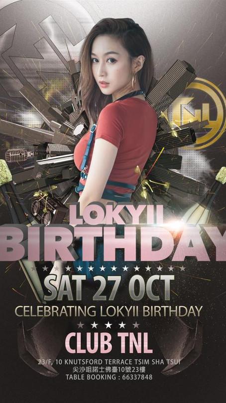 洛兒 Lokyii - 萬聖節勾魂鬼手打碟 @《Club TNL》Lokyii Birthday Party