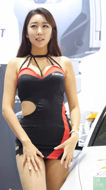 서울오토살롱 2018 | SEOUL AUTO SALON 2018 - Race Queen #01 김다온 《덱스크루 DEXCREW / Race Chip》#01