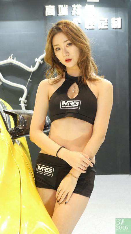 CAS 改裝車展 | China Auto Salon 2019 - Racing Model 레이싱모델 車模 #34