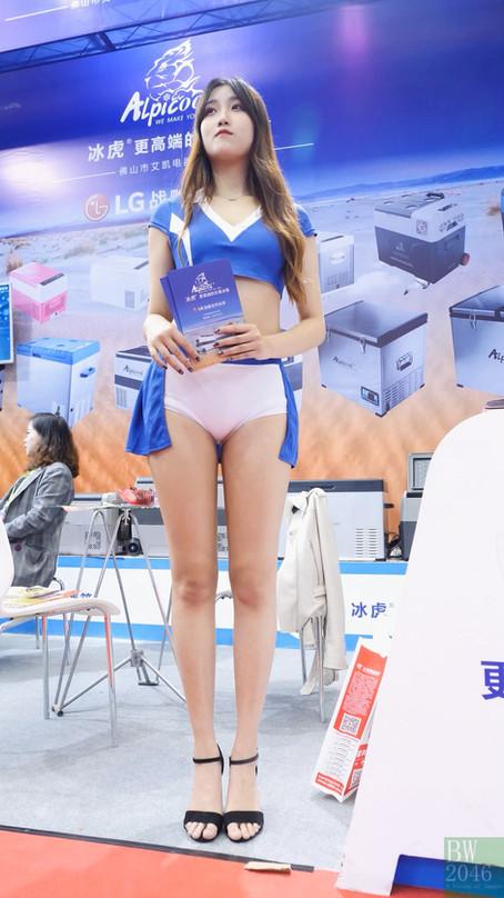 AAITF 2019 第十八屆深圳(春季)國際汽車改裝服務業展覽會 - 車展女模 @ 冰虎 Aplicool