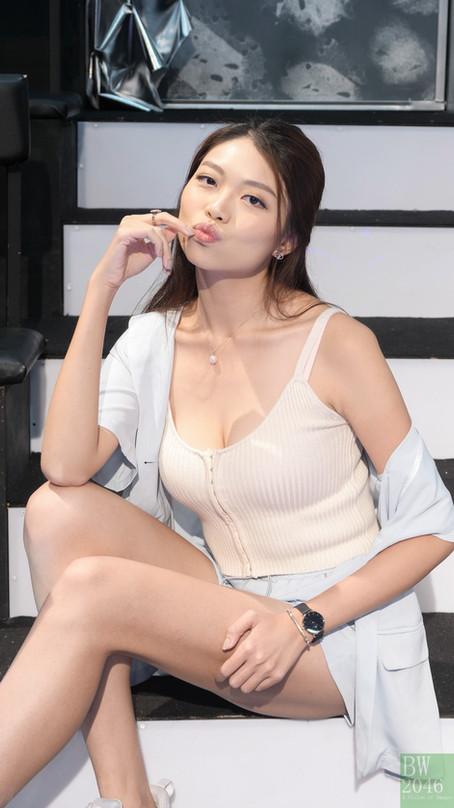 《亞洲小姐競選2021》- 張可盈 Natalie Cheung @ HC-DC 攝影學會探班活動