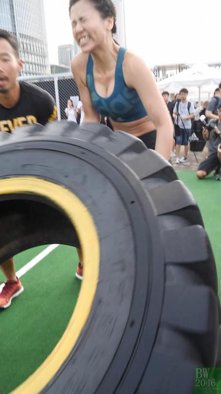 楊偲泳 Renci Yeung - 体能訓練班 @ adidas Sports Base 2017 開幕活動