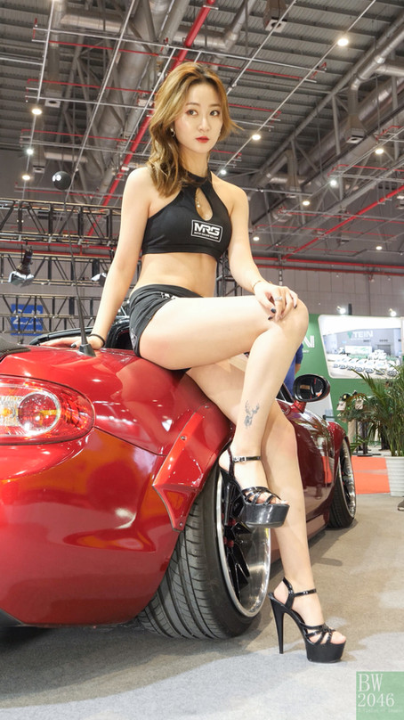 CAS 改裝車展 | China Auto Salon 2019 - Racing Model 레이싱모델 車模 #31