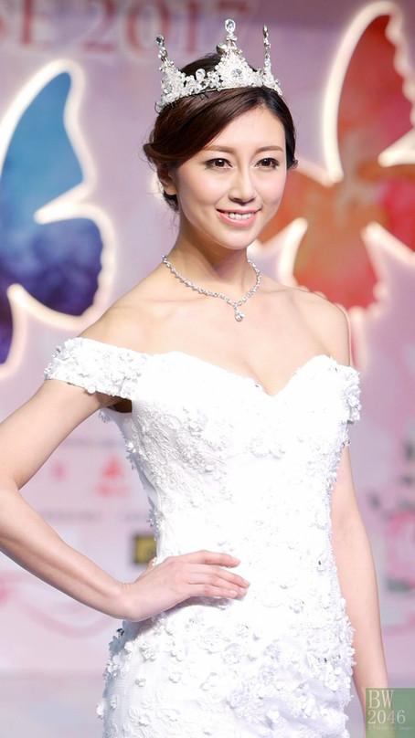 名模 :郭思琳Margiela K 出席「奇華嫁喜禮餅呈獻 – 第23屆婚展會 2017」