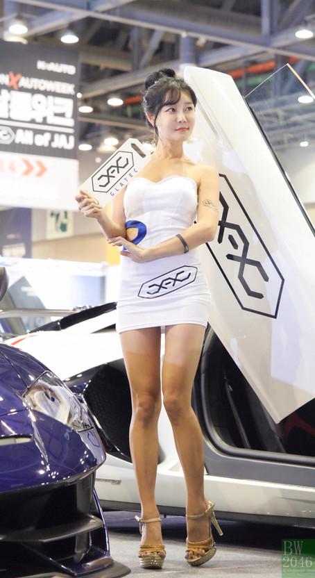 오토살롱위크 2019   AUTO SALON X AUTOWEEK 2019 - 최슬기 Choi Seul Gi 崔瑟琪, Racing Model #77