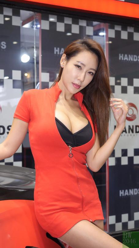 서울오토살롱 2017 | SEOUL AUTO SALON 2017 - 태희 Tae Hee, Racing Model 레이싱모델 車模 #19