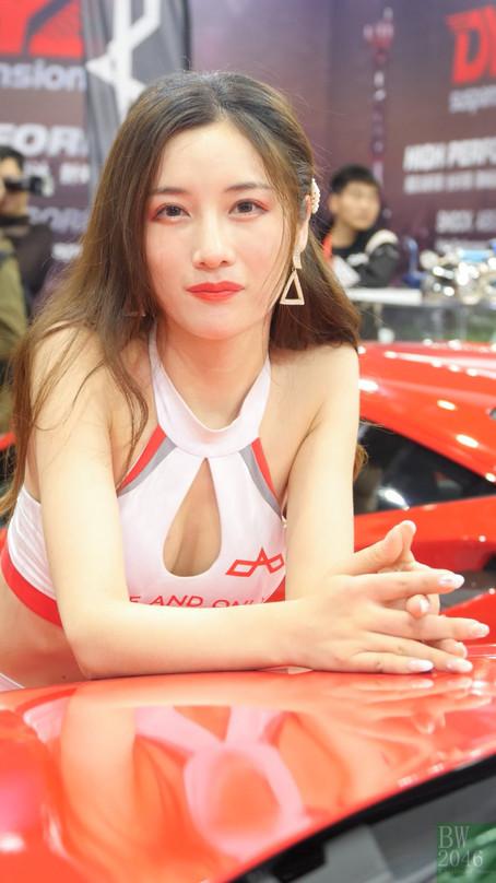 CAS 改裝車展 | China Auto Salon 2019 - 車模 #14 @ OAO-Exhaust System