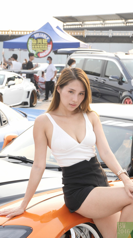 Vanessa Kuet - 山川社 - Racing Model 레이싱모델 車模 #01 - Car Future 扭樽汽車嘉年華 2021