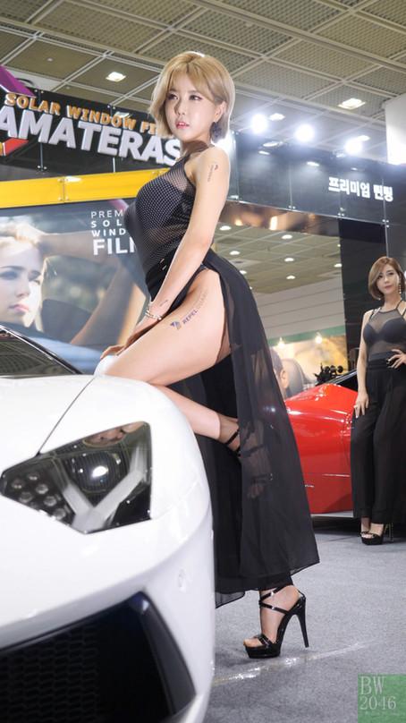 서울오토살롱 2017 | SEOUL AUTO SALON 2017 -  허윤미 Huh Yunmi, Racing Model 레이싱모델 車模 #25