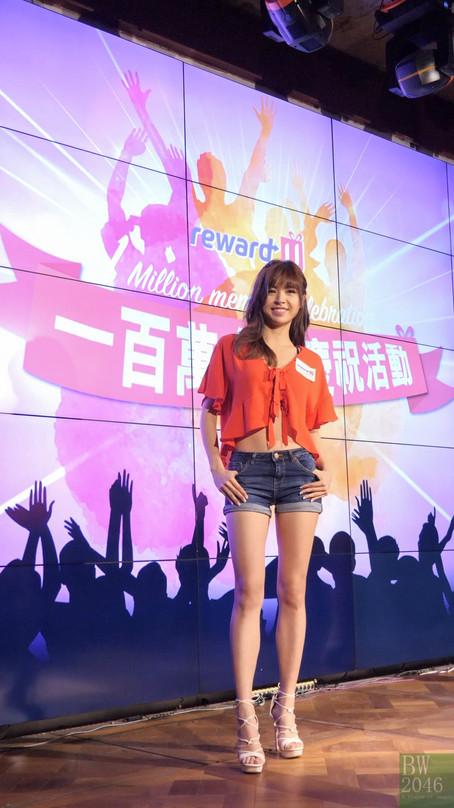 張秀文、劉穎鏇 @ HK Express Reward-U 百萬會員慶祝活動