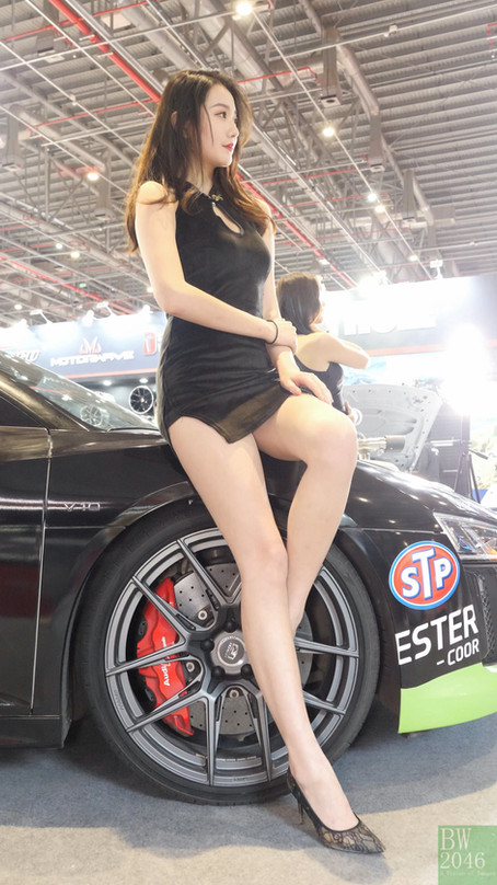 CAS 改裝車展 | China Auto Salon 2019 - Racing Model 레이싱모델 車模 #39 @ RAVIZE Wheels