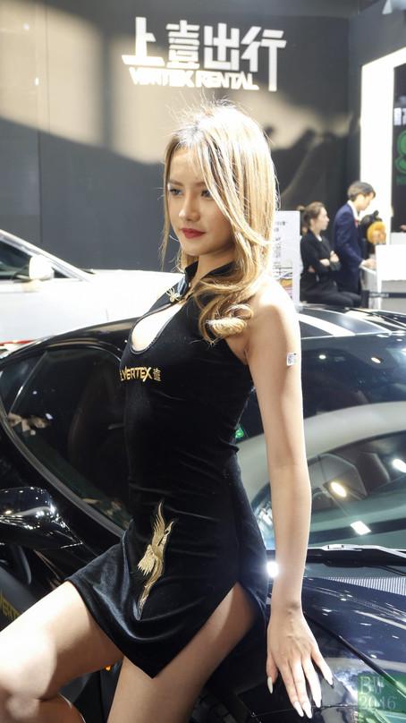 CAS 改裝車展 | China Auto Salon 2019 - Racing Model 레이싱모델 車模 #35 VERTEX Rental 上壹出行