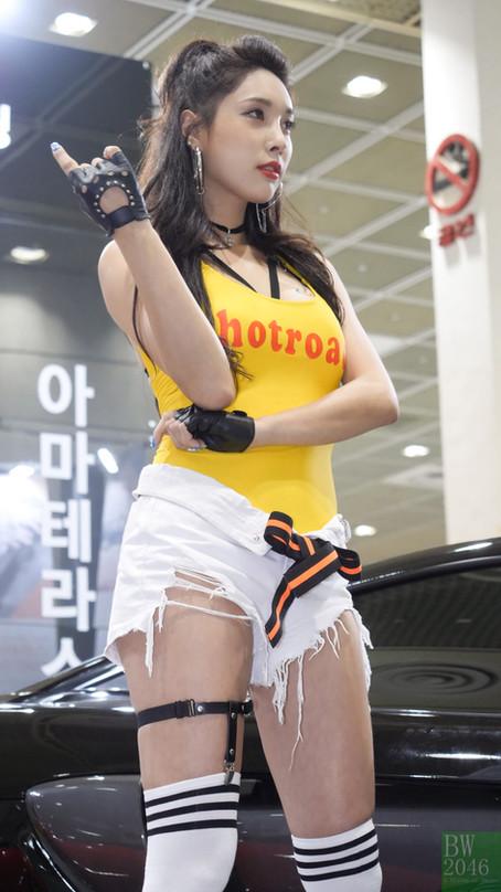 서울오토살롱 2017 | SEOUL AUTO SALON 2017 - 송가람 Song Ga Ram, Racing Model 레이싱모델 車模 #23