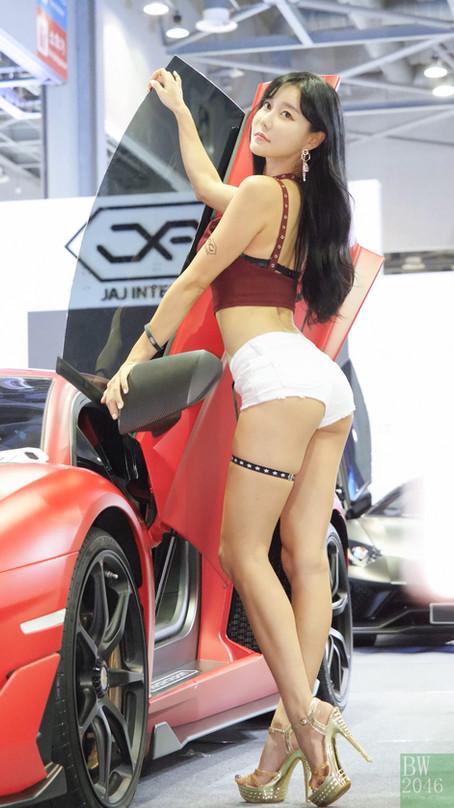 오토살롱위크 2019 | AUTO SALON X AUTOWEEK 2019 - 최슬기 Choi Seul Gi 崔瑟琪, Racing Model #76