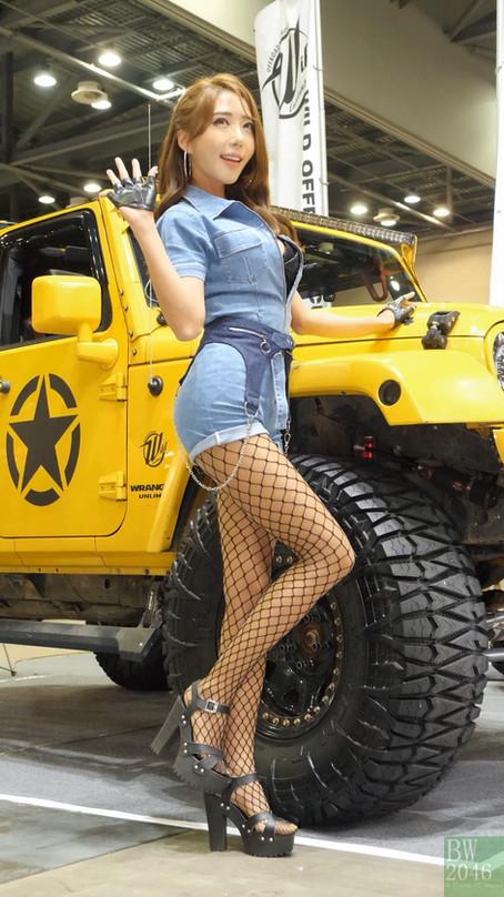 오토살롱위크 2019 | AUTO SALON X AUTOWEEK 2019 - 유달리 Yu Dal LY, Race Queen #34