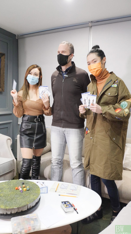 布偉傑 Brian Burrell、許嘉浩 Karl Hui、練樂儀 Alina Lin - 遊戲節目「龍與地下城」Dungeons and Dragons 拍攝花絮