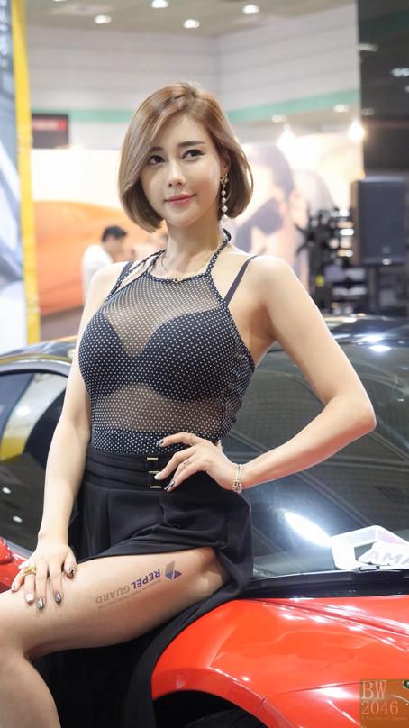 서울오토살롱 2017 | SEOUL AUTO SALON 2017 -  김하율 Kim Hayul, Racing Model 레이싱모델 車模 #14