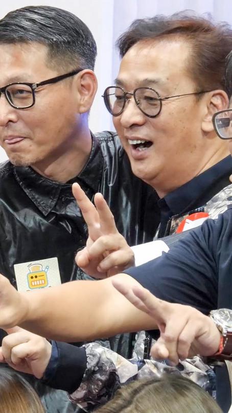 「面包台」開播半年祝捷會暨朱明銳加盟 記者會