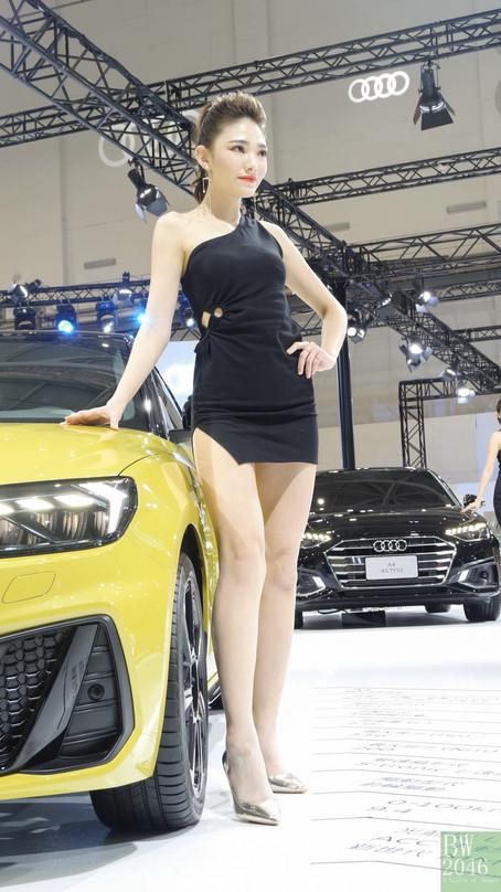 世界新車大展 - 台北車展   Taipei Auto Show 2020 - 車模 #27 ChaCha宇晴 @ Audi Taiwan